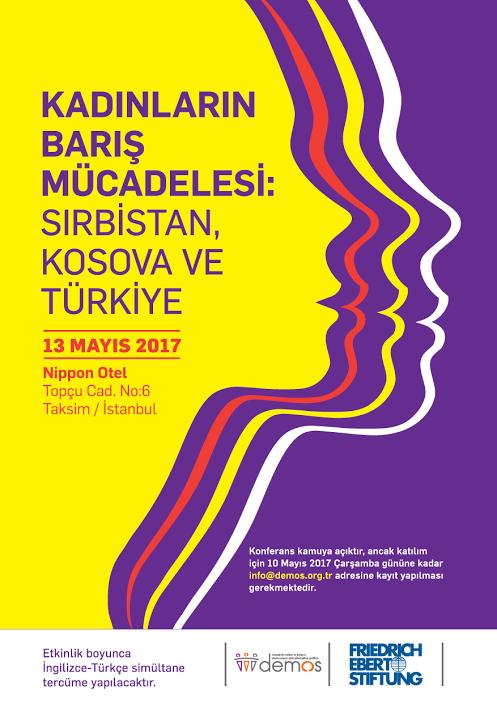 KONFERANS / Kadınların Barış Mücadelesi: Sırbistan, Kosova ve Türkiye