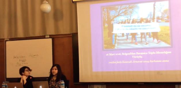 Mimar Sinan Üniversitesi Çarşamba Seminerleri'ndeydik